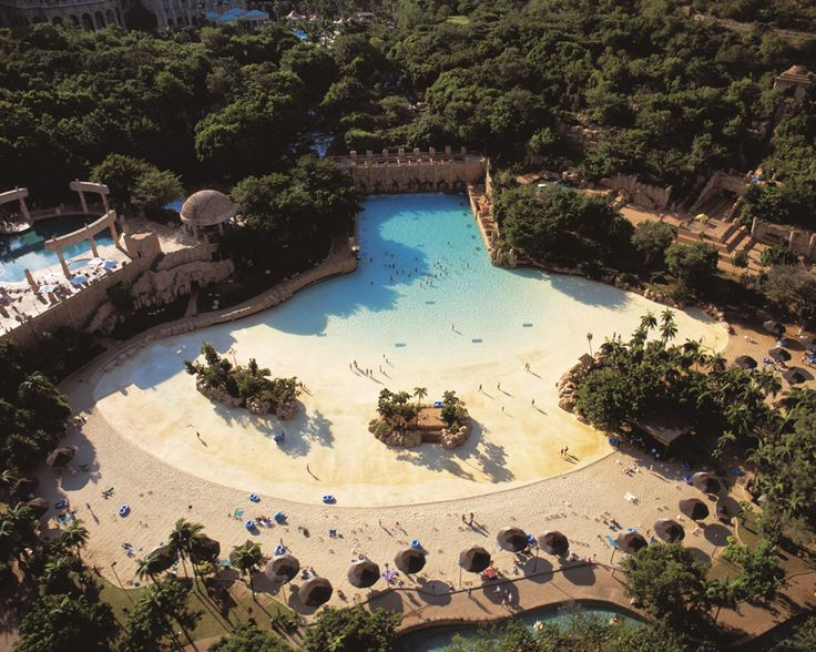 Valley of the waves at Sun City South Africa