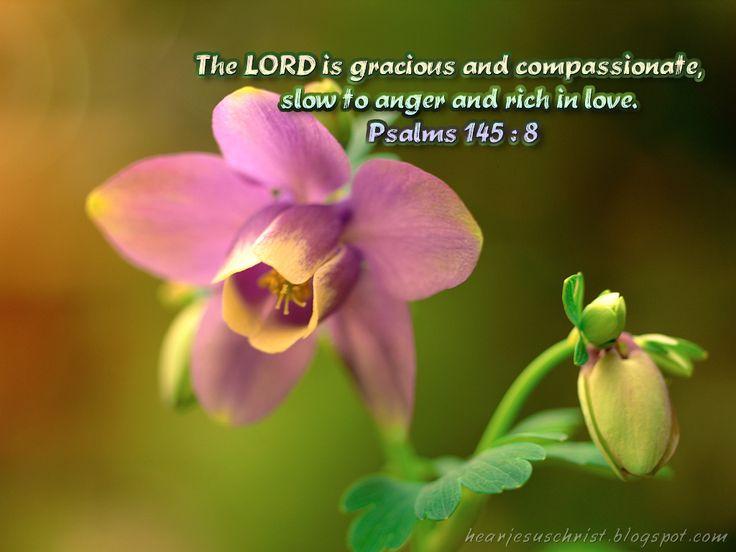 Love Verse Wallpaper : psalms bible verses about love christian Wallpapers: Bible Verse Wallpaper - Psalms 145:8 ...