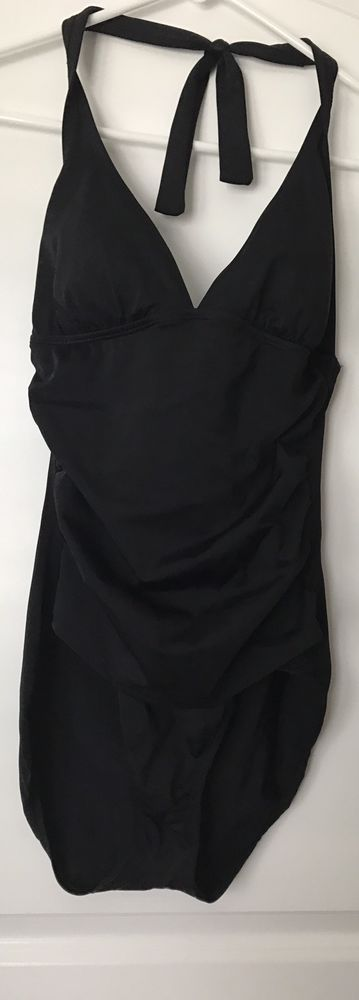 SPEEDO BLACK Womens 1 PIECE SWIMSUIT SIZE 10 #Speedo #OnePiece