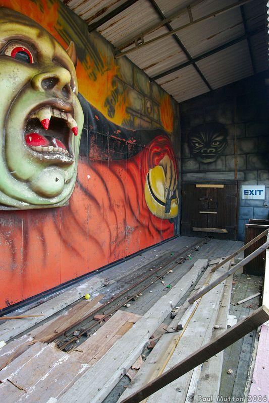 Folkestone Abandoned Ghost Train