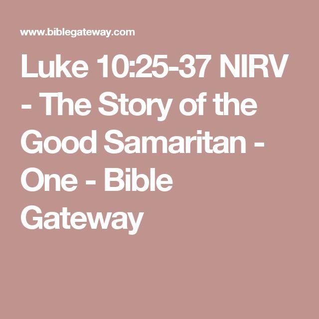 Lectio Divina: Luke 10:25-37
