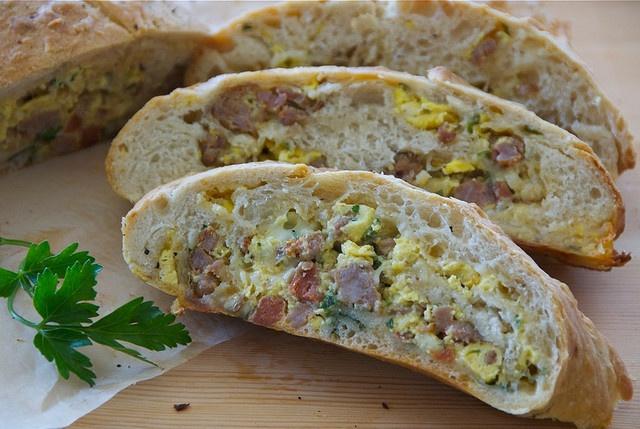 Italian sausage bread by Food Blogga,  This looks amazing!!