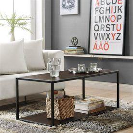 Shop Altra Furniture Espresso Rectangular Coffee Table at Lowes.com
