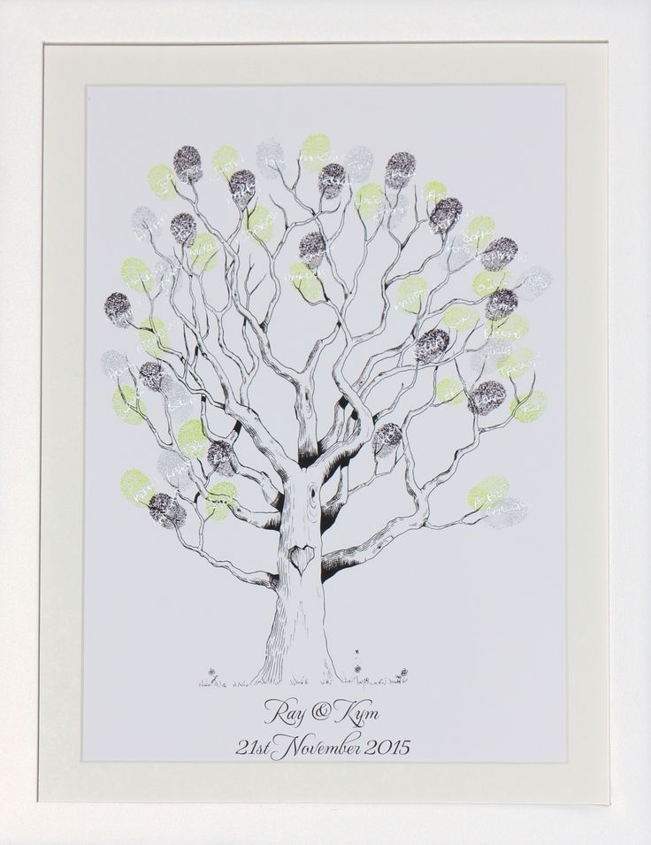 The Enchanted Tree, is now available at thefingerprinttre...  The kit includes everything you need, such as print, frame, ink pads, pen, gel cleaner & wipes for fingers and instructional card. Yep, everything!