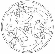 MANDALES NADAL 2 - petitmón 1 - Álbumes web de Picasa Recull de mandales per imprimir
