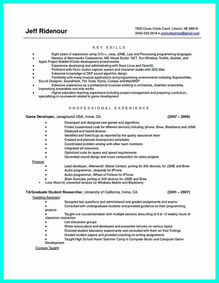 Best Computer Science Resume Beautiful 2695 Best Images