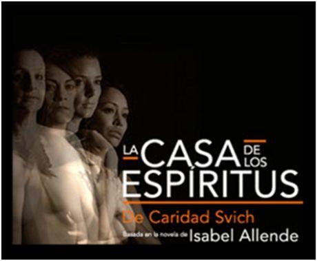 La casa de los espíritus es una buena obra de teatro en el Teatro López Tarso