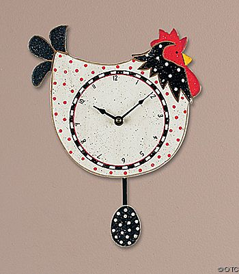 egg time...chicken clock