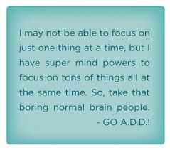 adhd funny quotes - Google Search
