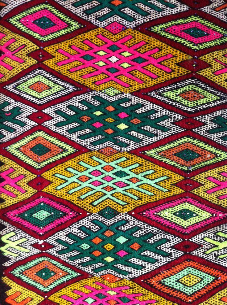 #Mosaic and #Design Inspiration: Moroccan prints as a design foundation and inspiration. -TMC~~Moroccan Print - Chara Houssart