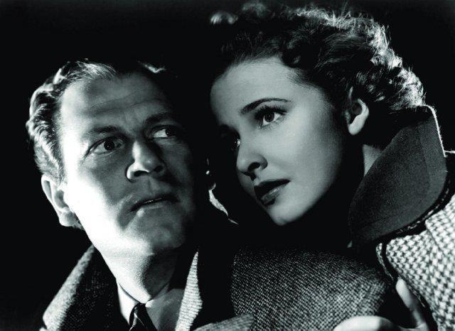 "laraine day | Joel McCrea and Laraine Day in ""Foreign Correspondent"" (1940) directed ..."