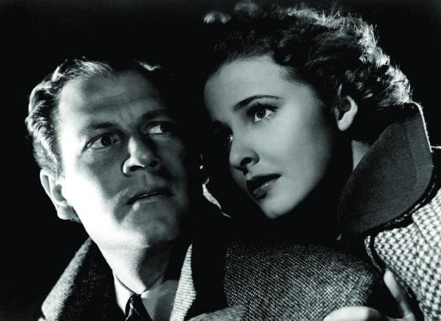 "laraine day | Joel McCrea and Laraine Day in ""Foreign Correspondent"" (1940) directed ..."