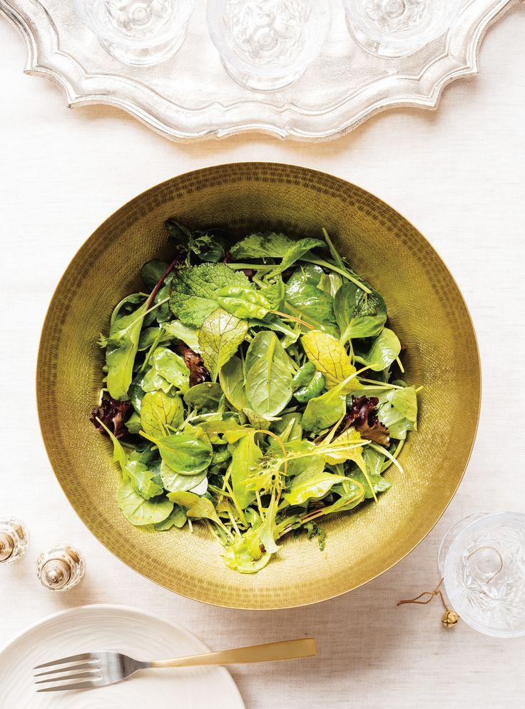 Recette de Ricardo de vinaigrette balsamique-érable  pour salade verte