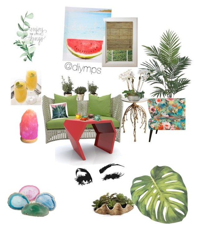 """"" by petrasvetlanamelinte on Polyvore featuring interior, interiors, interior design, home, home decor, interior decorating, Skultuna, David Francis Furniture, Bitossi and Nearly Natural"