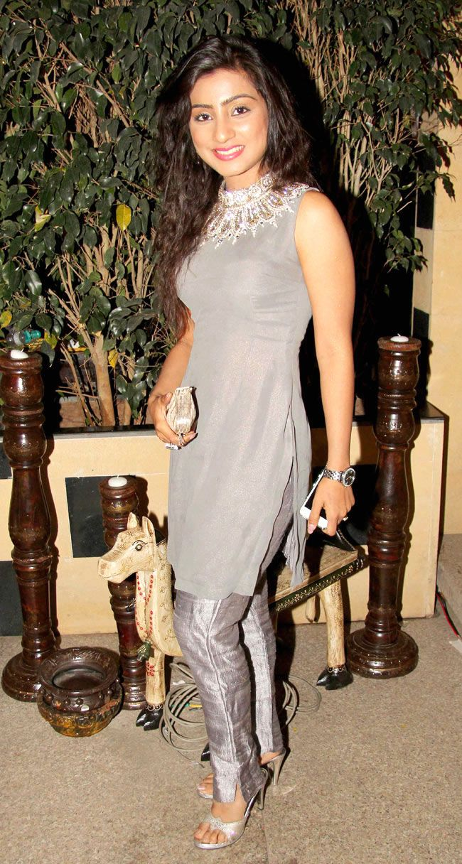 Neha Marda at the 'Balika Vadhu' 1500 episodes completion bash. #Style #Bollywood #Fashion #Beauty