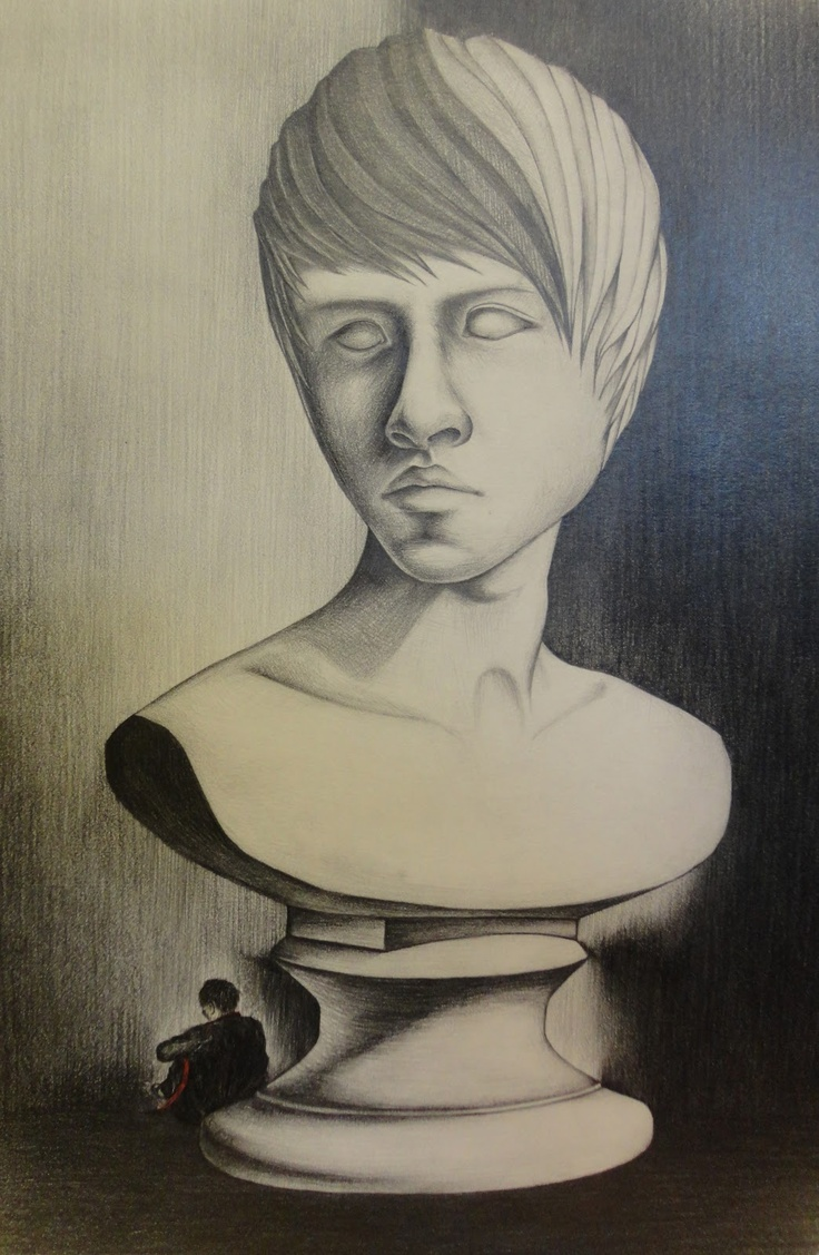 Art Mash - Richmond High School student self-portraits