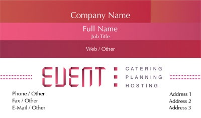 Check out the Eventplanning17 Business Card with OvernightPrints.com