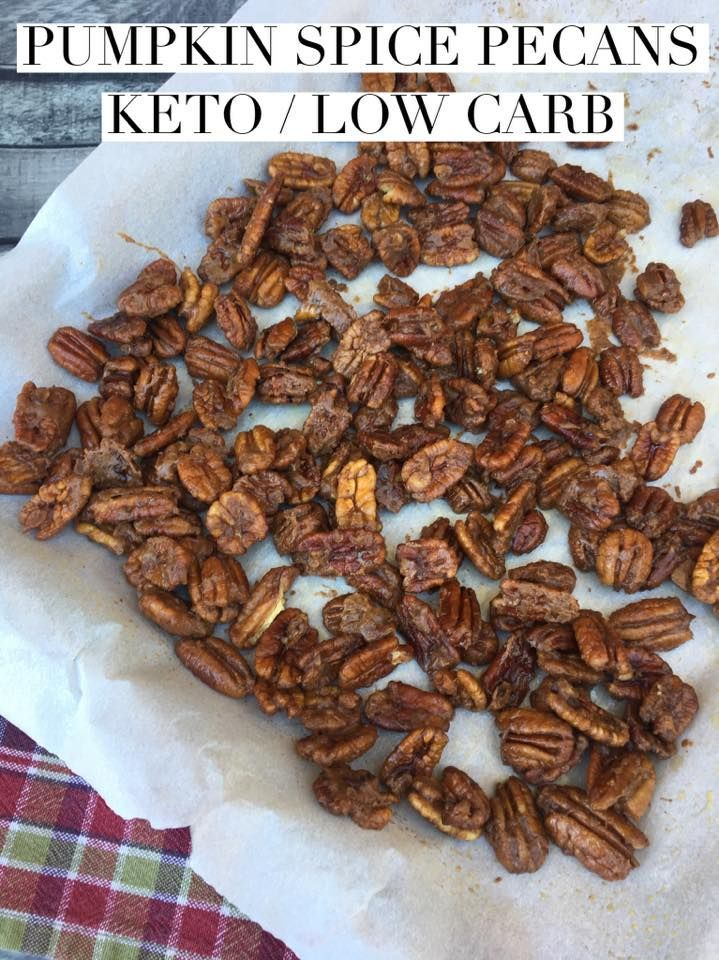 """TweetEmail TweetEmail Share the post """"Pumpkin Spice Pecans {keto/low carb}"""" FacebookPinterestTwitterEmail A friend of mine who is also doing keto posted a recipe last week for pecans that she had made and mentioned that she might try adding pumpkin spice next time. I immediately messaged her and asked if I could post her recipe oncontinue reading..."""