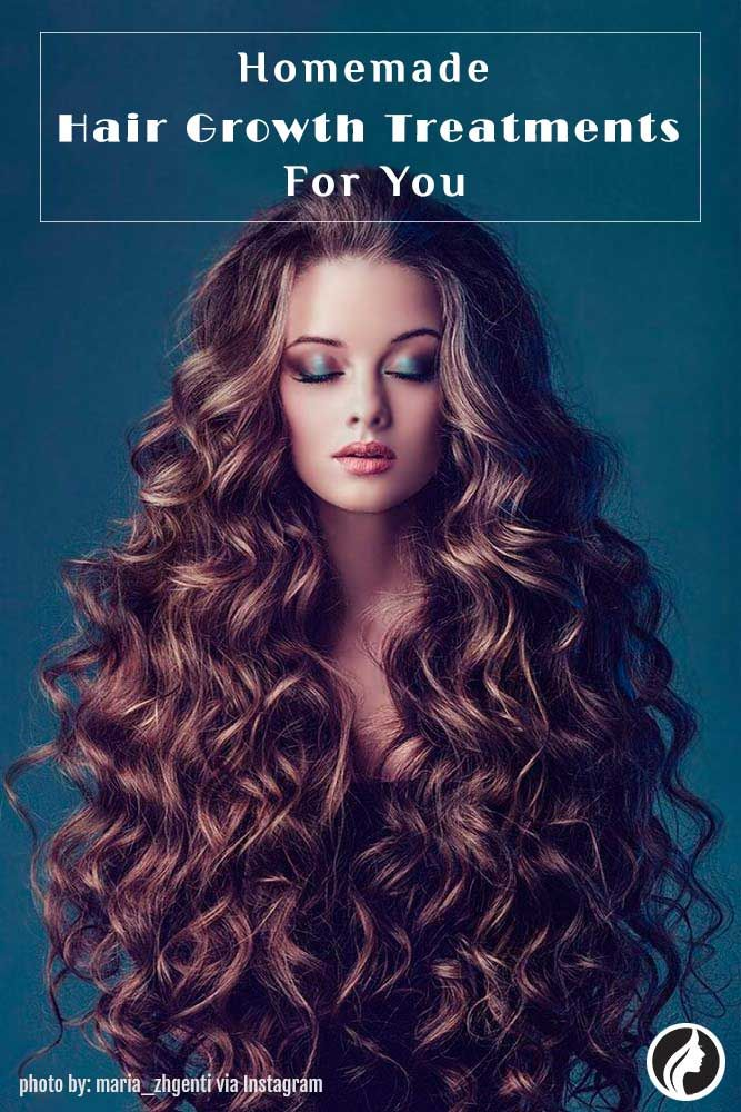 You can perform a lot of growth treatments right in your own kitchen! So here are some homemade hair growth treatments for you.