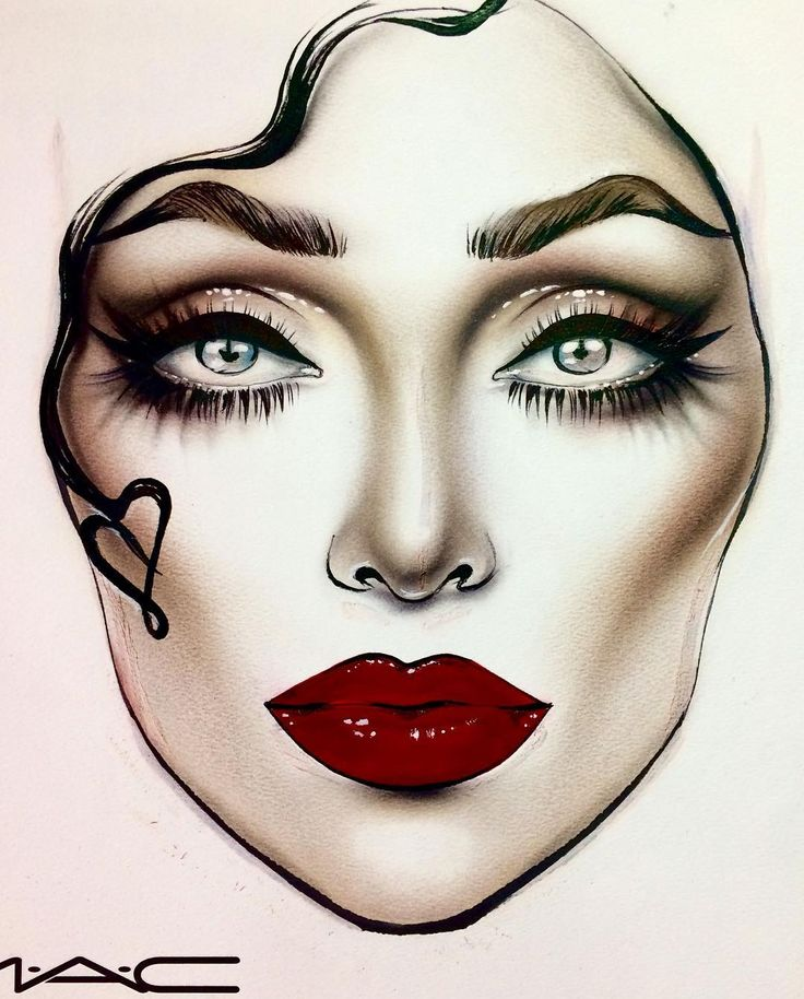 433 Best Images About U3010 U3011 FaceChart Art U3010 U3011 On Pinterest