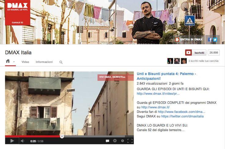 DMAXItalia presenta nel proprio canale promo e anteprime dei video e delle puntate che è possibile vedere in maniera integrale sul sito web di DMAXItalia (annotazioni e link nelle descrizioni dei video facilitano il percorso dello spettatore da YouTube al sito).
