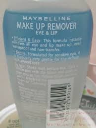 makeup remover maybelline
