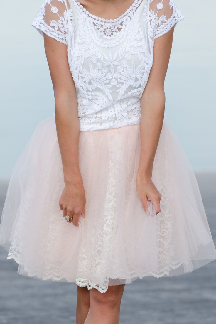 The Kayla tulle skirt