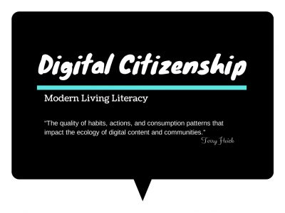 Great lesson plan for middle school digital citizenship.