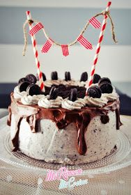Tarta cumpleaños Andrea: chocolate y oreos | Chocolate and Oreo Cake