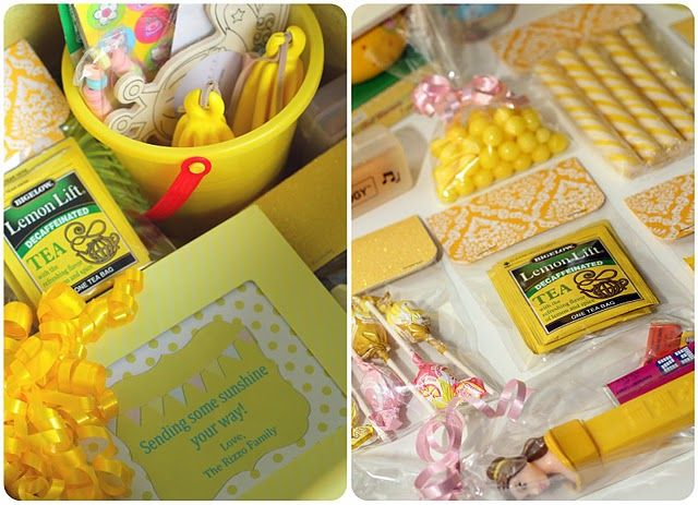 Sunshine in a box care package