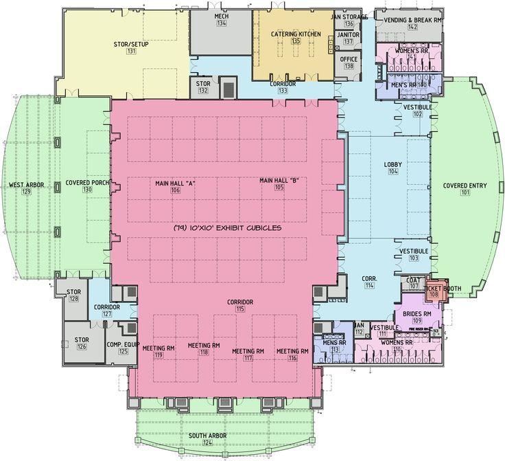 trade show floor plan layout