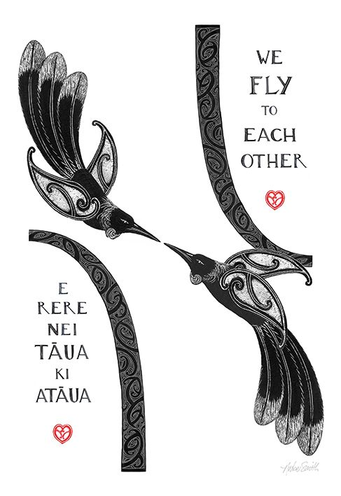 We Fly to Each Other - by Amber Smith. www.imagevault.co.nz