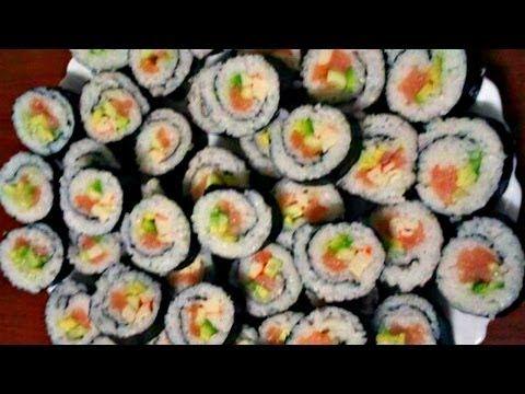 Как Приготовить Вкусные Суши Дома (Филадельфия, Калифорния, ПРОВЕРЕННЫЙ РЕЦЕПТ!) Sushi Recipe - YouTube