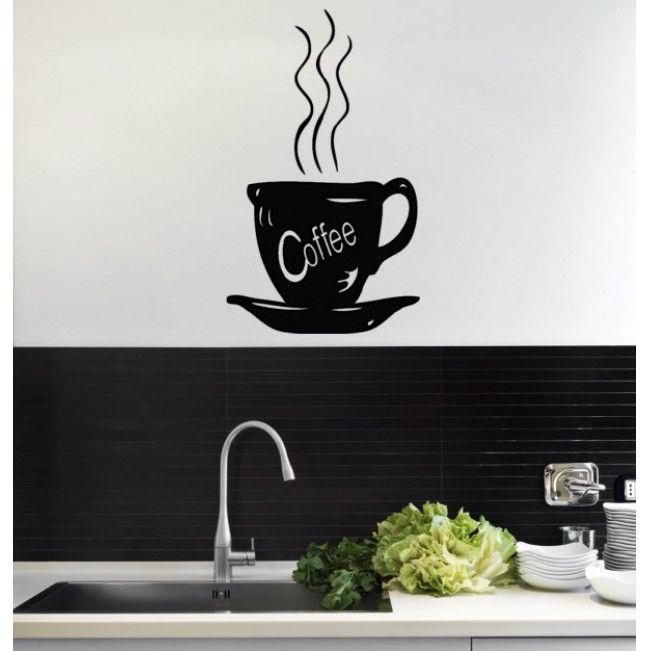 Coffee Break Premium Vinyl Wall Sticker
