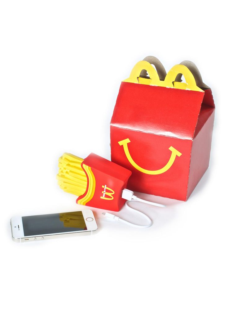 Wattzup Fry Or Die Power Bank can I get one? share tha wealth with this f*xking rad portable power bank, featuring a super detailed french fries 'n sleeve shaped bank, outlets for iPhone and Android charging cables, and 8 hours of extra battery life. http://amzn.to/2qP1nqT