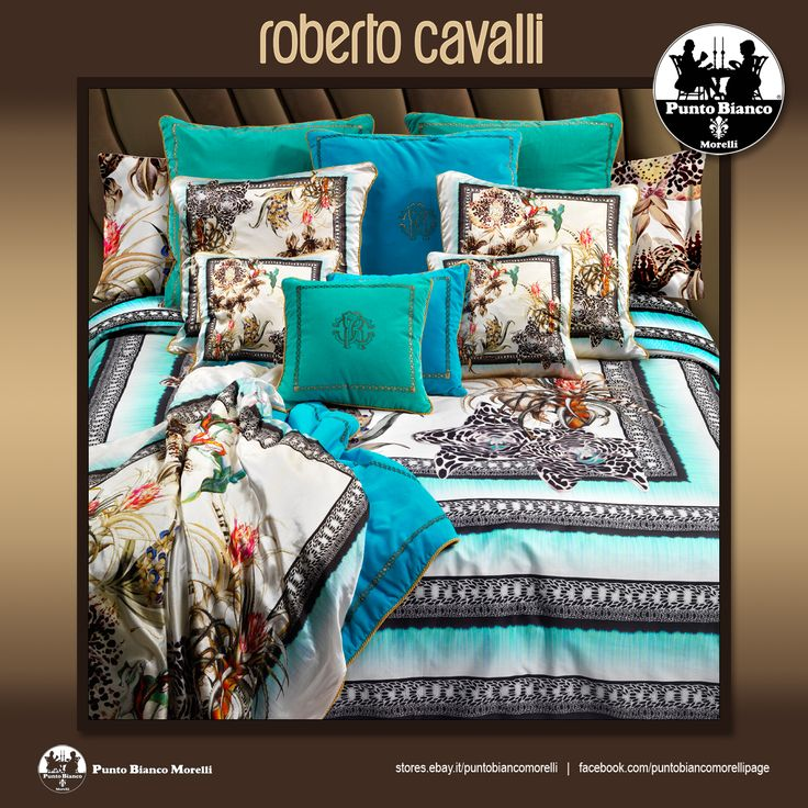 ROBERTO CAVALLI   TROPICAL Lenzuola, sopra sotto e due federe - Full bedsheet