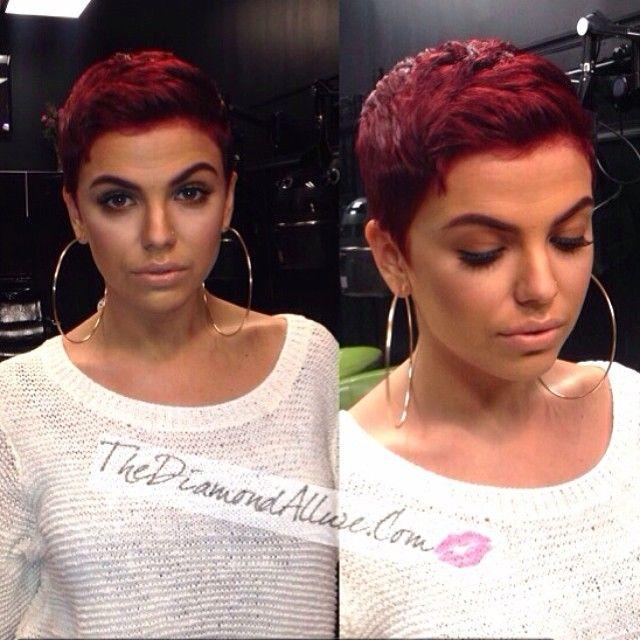 Short Haircut, Hair Color