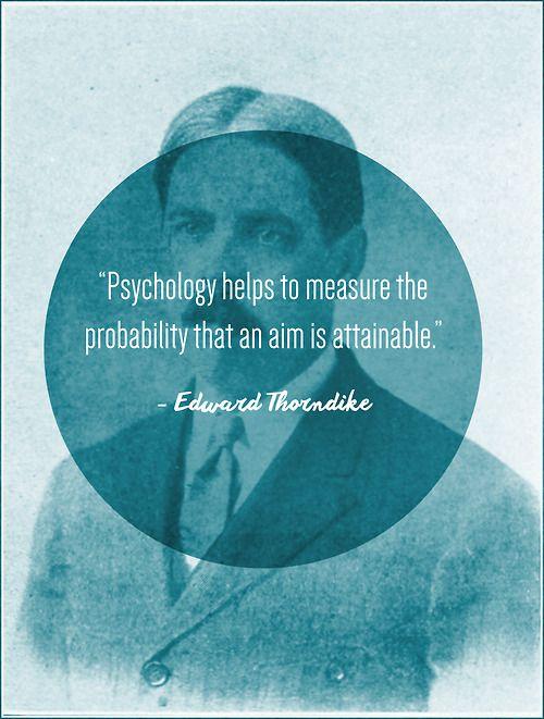 thorndike women Career focus: giftedness educational psychology psychology of women   hollingworth went on to study educational psychology under e l thorndike,.