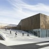 Ateliers O-S Architectes' New Cultural Center in Nevers Incorporates Public Space into the Roof Design