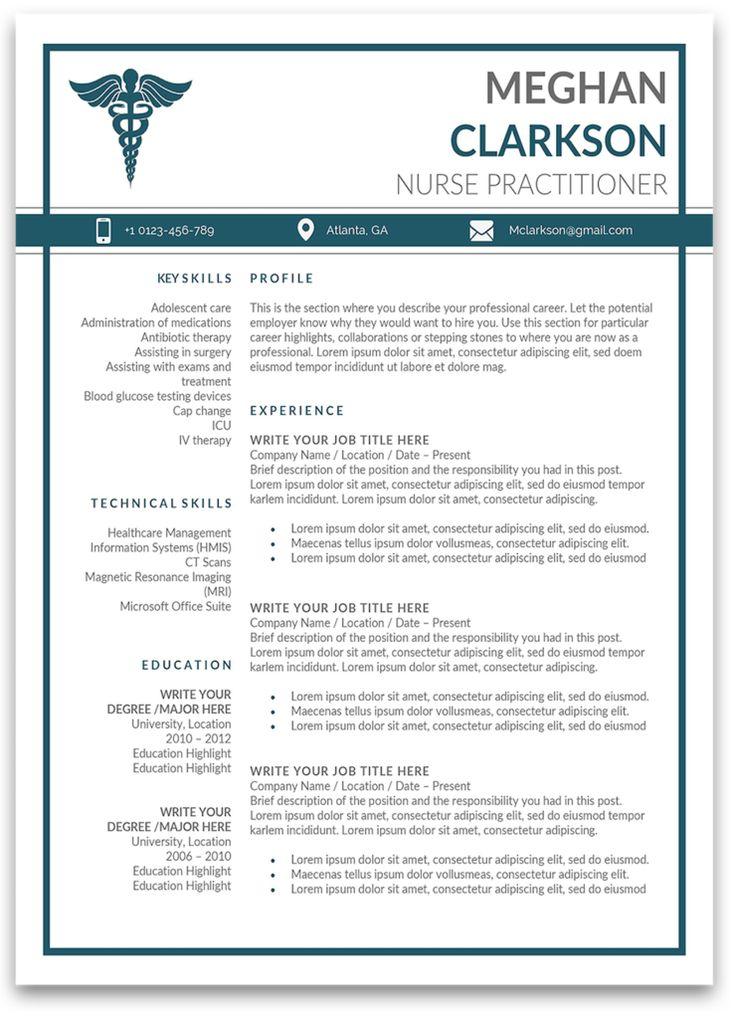 Boston resume template nurse practitioner resume