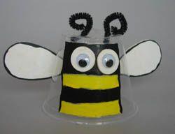 DIY cup lantern for kid to make.