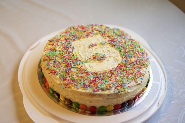 The cake. 5 years.
