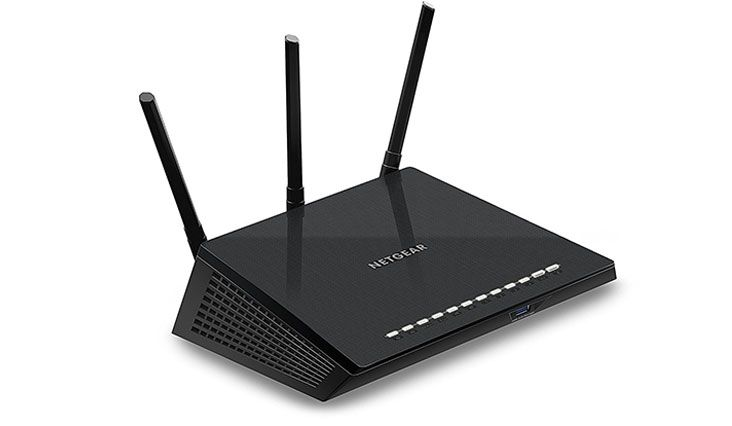 NETGEAR AC1750 Dual Band WiFi Gigabit Router (R6400) compatible with Amazon Echo/Alexa