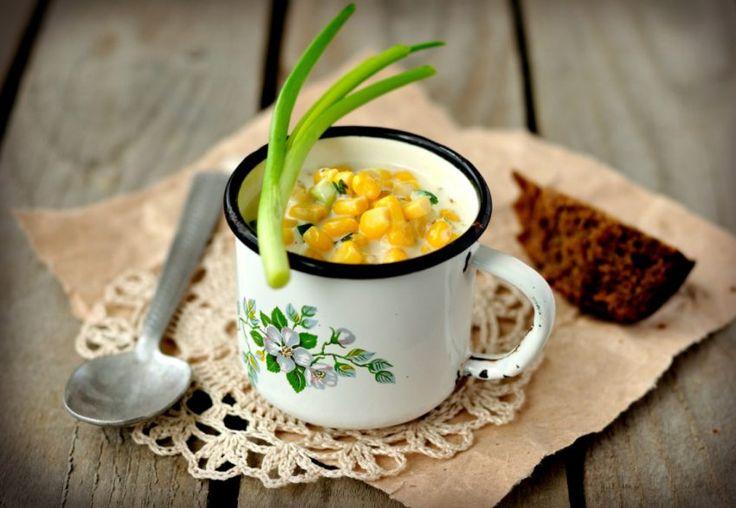 Chowder z kukurydzy