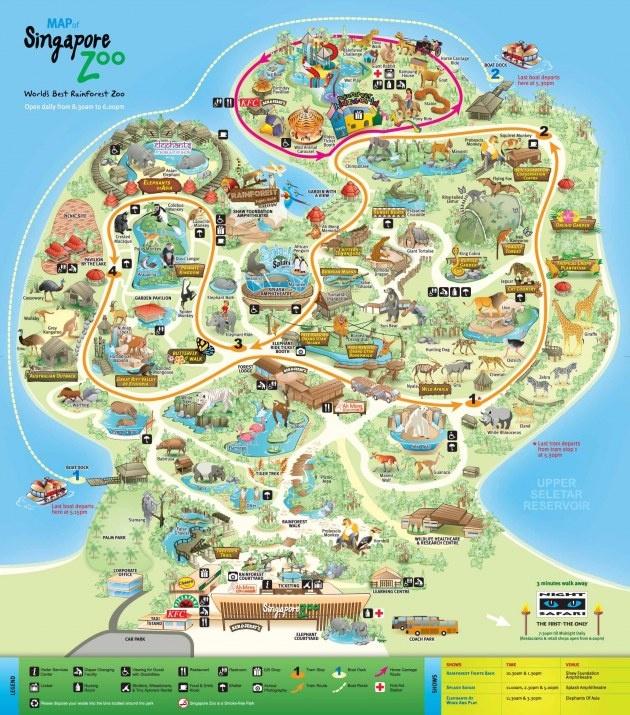 I Wanna Go To The Zoo Zoo Zoo Singapore Zoo Zoo Map Zoo