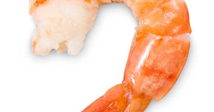 Sauté de crevettes et de légumes