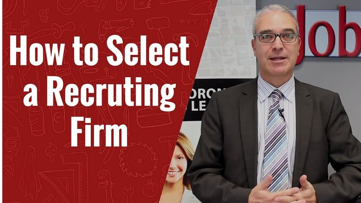 How to Select a Recruiting Firm