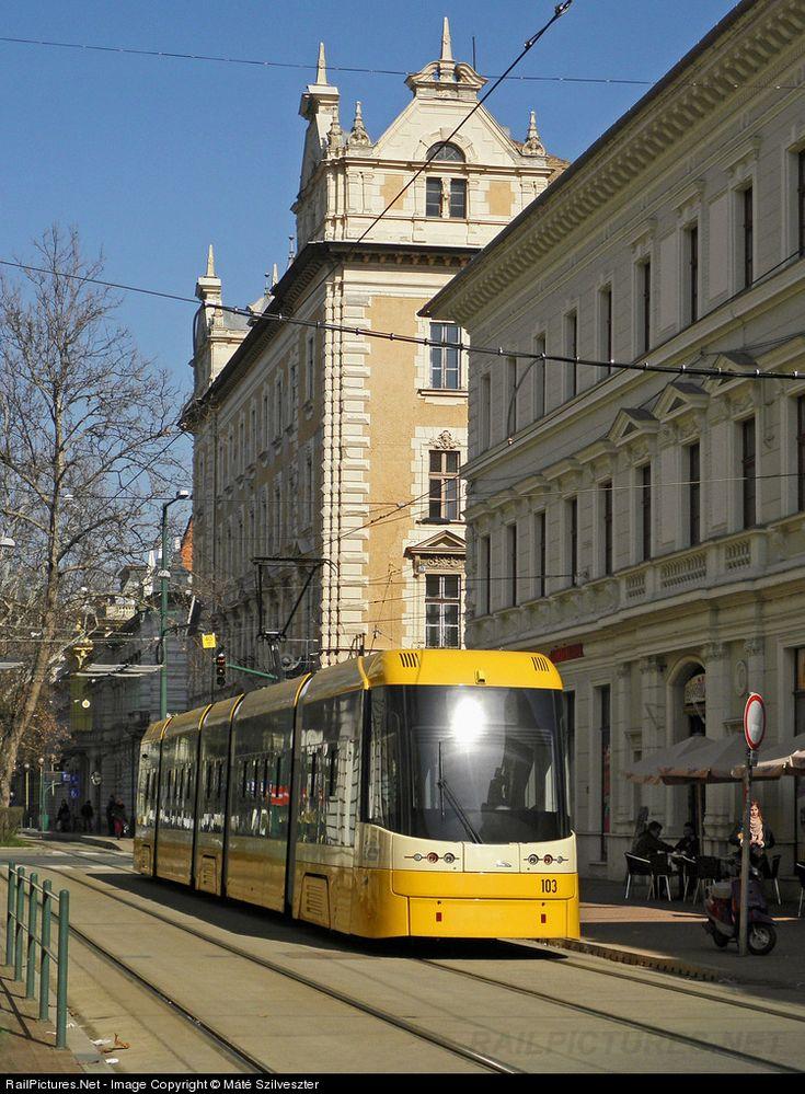 103 Szeged Transport Limited (SzKT Kft.) PESA Swing at Szeged, Hungary by Máté Szilveszter