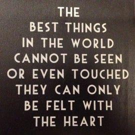The best things.... | Spreuken | Stoer en Sfeer