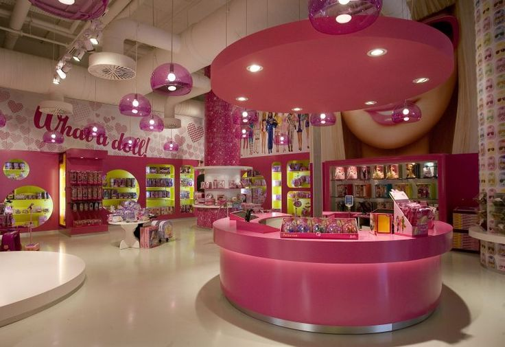 Barbie Store Barcelona ..wish I would have went here when I was in Barcelona!